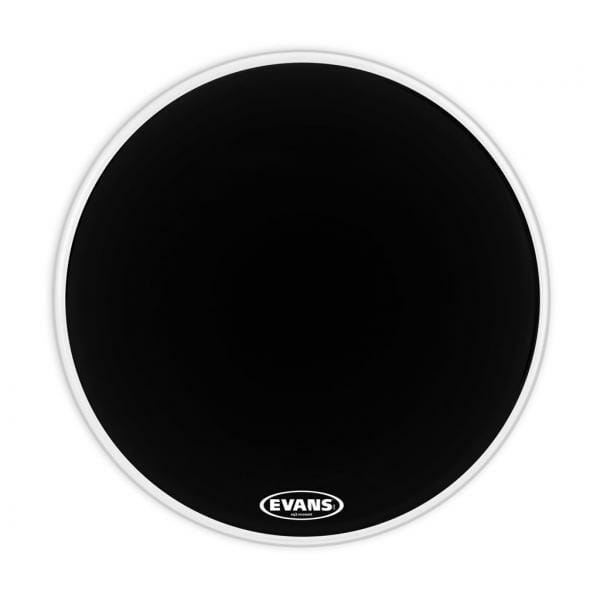 "Evans EQ3 Black 26"" Resonant Bass Drum Head"