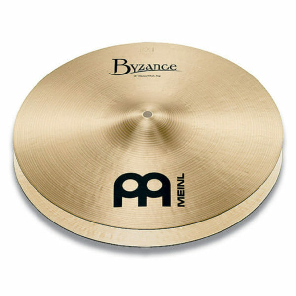 "Meinl Byzance Traditional 14"" Heavy Hi-Hat Cymbal"