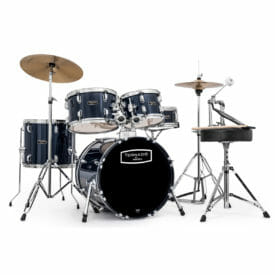 "Mapex Tornado Starter Drum Kit - 18"" COMPACT - Royal Blue With Cymbals"