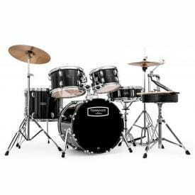 "Mapex Tornado Starter Compact Drum Kit - 18"" Black With Cymbals"