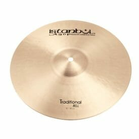 """Istanbul 10"""" Traditional Bell Cymbal"""