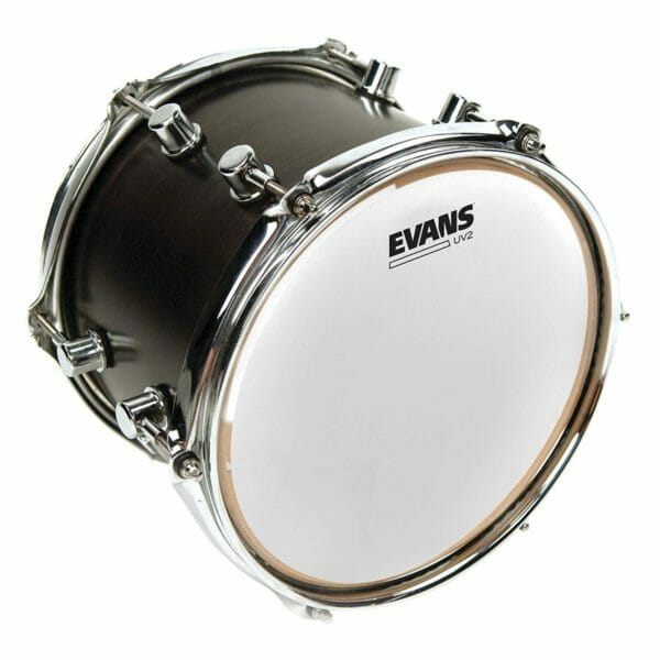 """Evans UV2 8"""" Coated Tom Drumhead"""