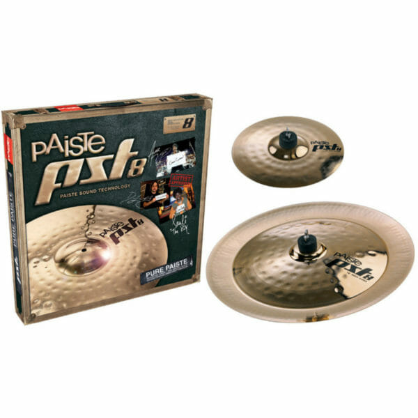 """Paiste PST 8 10/18"""" Rock Effects Cymbal Pack"""