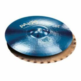 """Paiste 14"""" 900 Colour Sound Blue Sound Edge Hi Hats"""