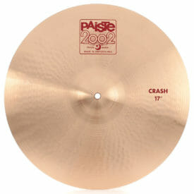 "Paiste 17"" 2002 Crash Cymbal"
