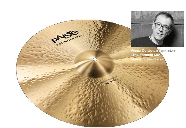 "Paiste 20"" Formula 602 Modern Essentials Ride"