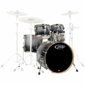 "PDP 20"" 5 Piece Concept Maple Shell Pack Silver to Black Sparkle"