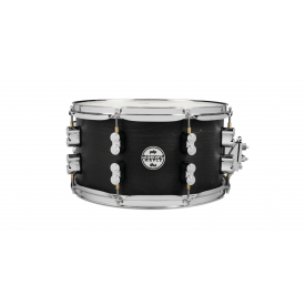 "PDP Black Wax Snare Drum 13 x 7"""