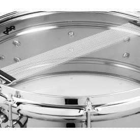 """PDP Black Nickel Over Steel Snare Drum 12 x 6"""""""