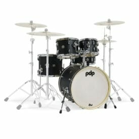 "PDP 20"" 5 Pc Shell Set Spectrum Series Ebony Satin"