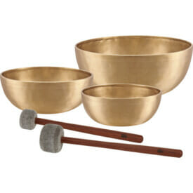 Meinl Sonic Energy Energy Therapy Series Singing Bowl Set 3 Pcs. Set - Sb-E-1000, Sb-E-1400, Sb-E-2200, Sb-Pm-Mf-S, Sb-Pm-Mf-L