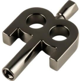 Meinl Kinetic Key, Nickel Plated, Black