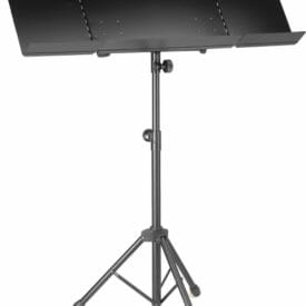 Stagg Orchestral Music Stand With Plain Metal Music Rest And Expandable Sides