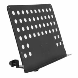 Stagg Large Perforated Music Stand Plate With Attachable Holder Arm