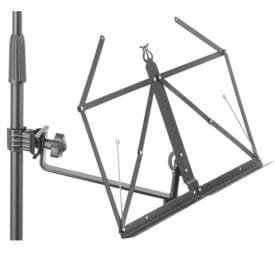 Stagg Foldable Music Stand Arm With Clamp And Lyra Design