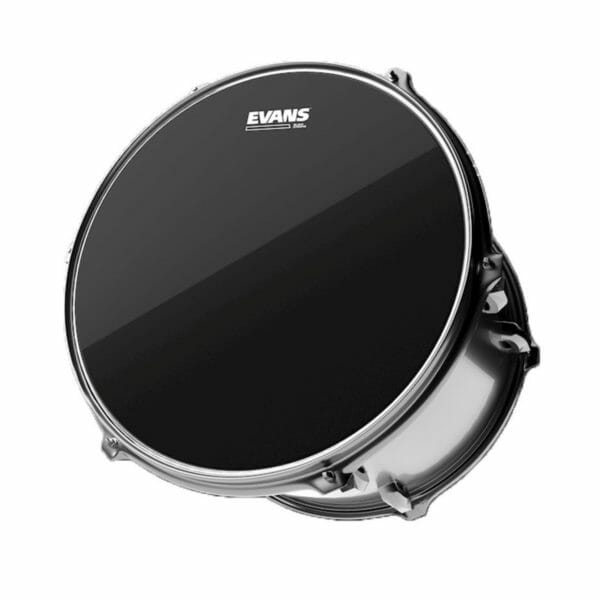 "Evans Black Chrome Drum Head 12"""