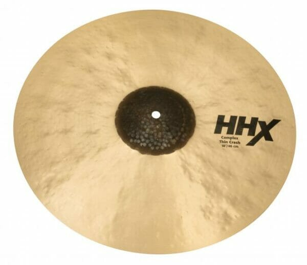 "Sabian HHX Complex 18"" Thin Crash"