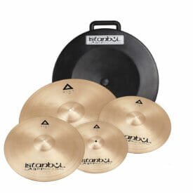 Istanbul Agop Xist Cymbal Set 14' 16' 18' 20' With Hard Case