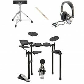 Yamaha DTX 452 Bundle with stool headphones and drumsticks