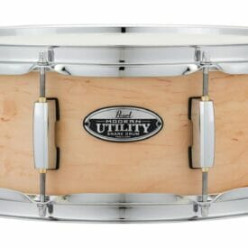 "Pearl 14""x 5.5"" Modern Utility Maple Snare Drum Natural"