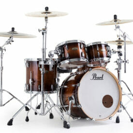 "Pearl Session Studio Select 22"" 4 Piece Shell Pack - Gloss Barnwood"