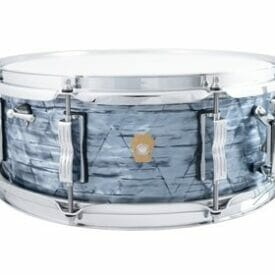 """Ludwig 14x5.5"""" Jazz Fest Snare Drum - Sky Blue Pearl"""