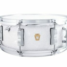 """Ludwig 14x5.5"""" Jazz Fest Snare Drum - White Marine Pearl"""