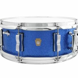 "Ludwig 14x5.5"" Jazz Fest Snare Drum - Blue Sparkle"