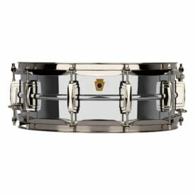 """Ludwig 14x5"""" Super Series Chrome over Brass Snare Drum"""