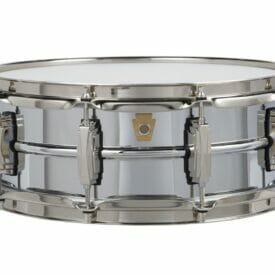 """Ludwig 14x6.5"""" Super Series Chrome Over Brass Snare Drum"""