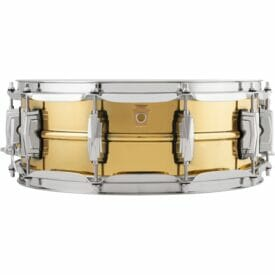 """Ludwig 14x5"""" Super Series Brass Snare Drum"""
