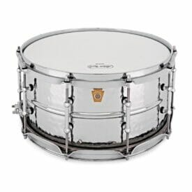 """Ludwig 14x6.5"""" Supraphonic Hammered Shell Snare Drum, Tube Lugs"""