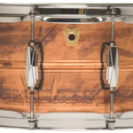 Ludwig 14×6.5 Raw Copper Snare Drum with Imperial Lugs use