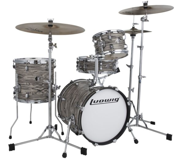 Ludwig Breakbeats Questlove 16in 4Pc Shell Pack, Sahara Swirl