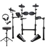 Carlsbro CSD100 Electronic Drum Kit – Bonus Pack