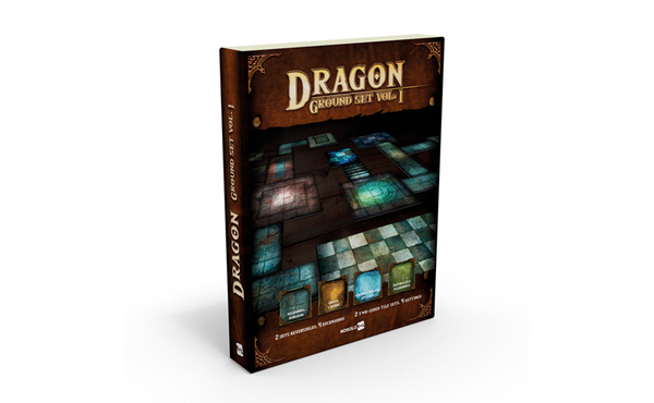 Dragon Ground Set Vol. 1 llega para llenar de aventuras tu mesa de juego.