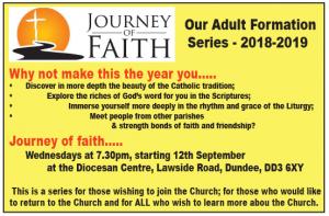 Journey of Faith @ Pastoral Centre | Scotland | United Kingdom
