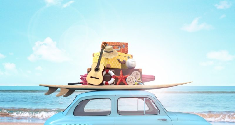 summer holidays travelling
