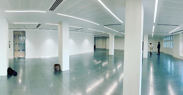 @echospace_london Looking to transform this lovely grade A space in New Bond St. Watch this space...literally. 🏻