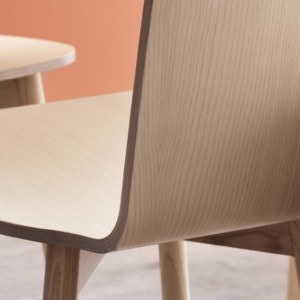 Skandiform's Twig chair in ash wood