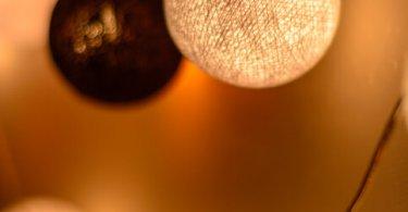 Cotton ball fairy LEDs