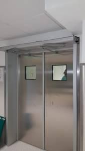 Portas herméticas Hospital da Luz