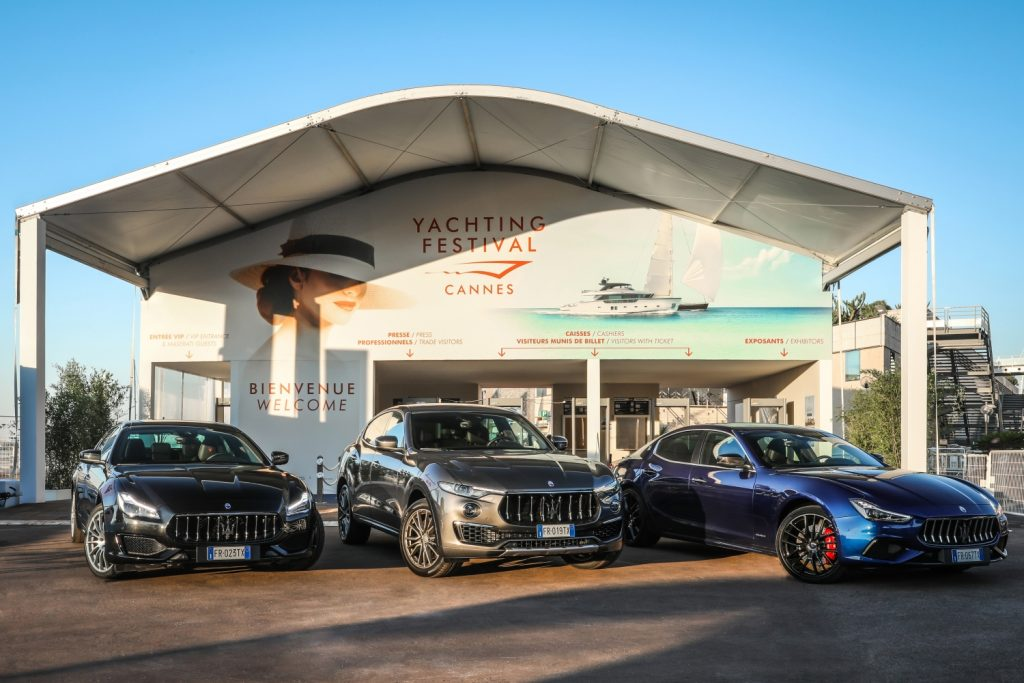 Image result for maserati cannes yachting festival 2018