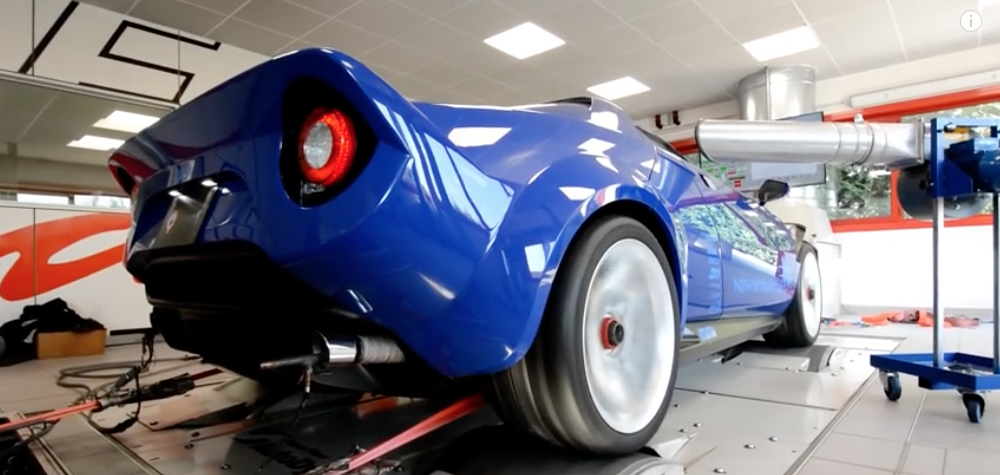 Enjoy The New Lancia Stratos 550bhp Enzari