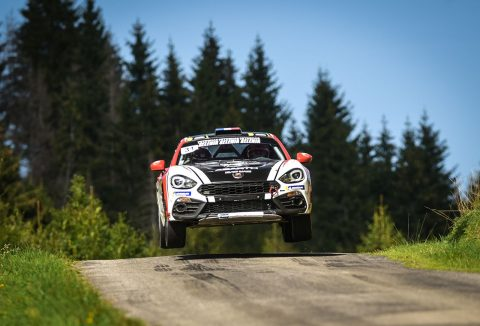 Abarth 124 Rally To Continue In The European Rally Championship (ERC) In 2019