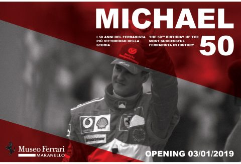 Michael 50' at Ferrari Museum