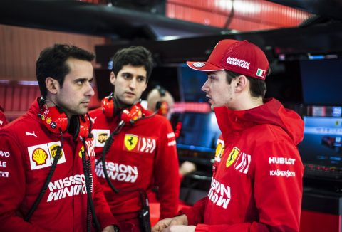 Scuderia Ferrari: LeClerc Brings Barcelona Test To An End