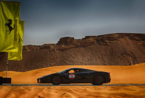 Ferrari celebrates its 25 years Anniversary in the United Arab Emirates with the International Cavalcade
