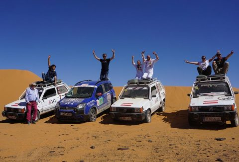Fiat Panda Cross IS The Champion Of The Desert