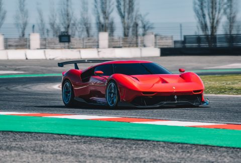 Ferrari P80/C Is Extreme One Off